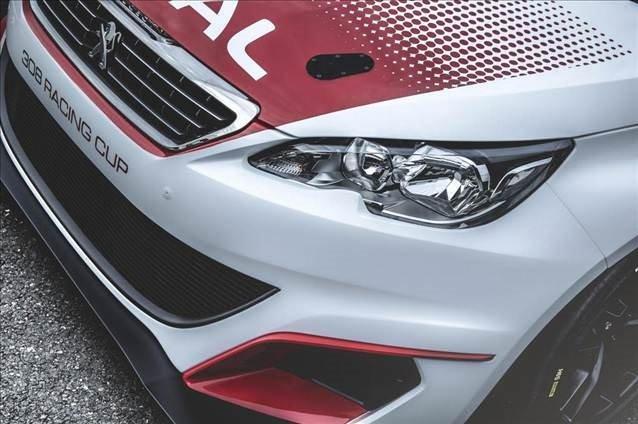 Peugeot Frankfurt'ta yarışa hazır