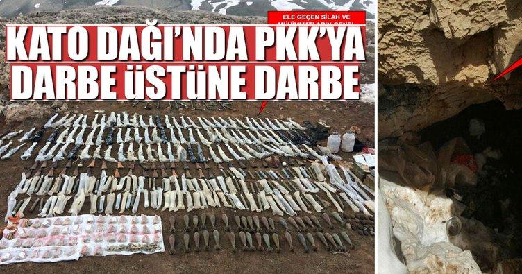 Kato Dağı'nda PKK'ya ağır darbe