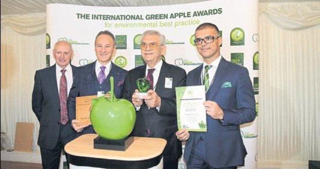 Çevreci yatırım Yeşil Elma ödülünü getirdi