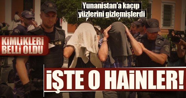 Son dakika: İşte iade edilecek darbecilerin kimlikleri! Yunanistan'a kaçan hainlerin isimleri