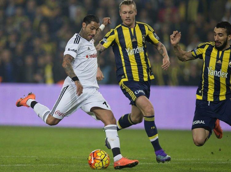 Fenerbahçe-Beşiktaş maçından fotoğraflar