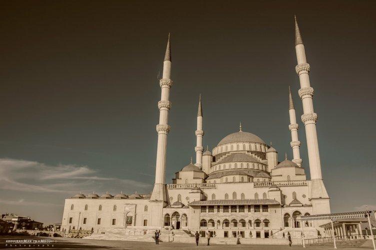 İşte Türkiye'nin cami haritası