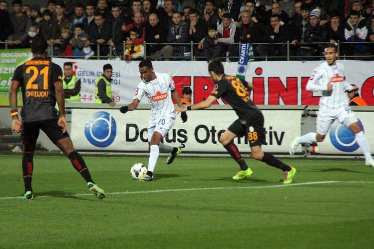 Ç.Rizespor-G.Saray maçı Twitter'ı salladı