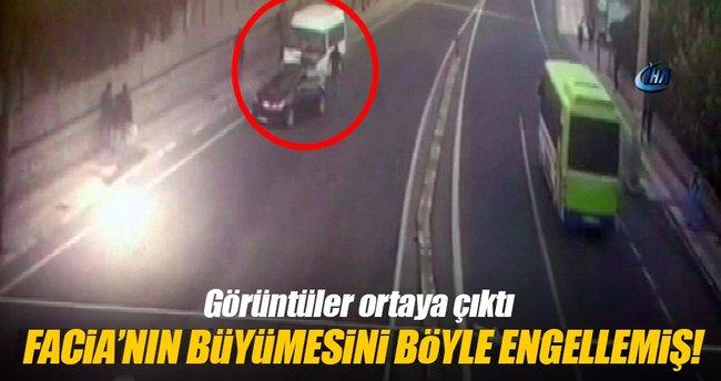 Diyarbakır'daki facianın büyümesini sürücü engelledi