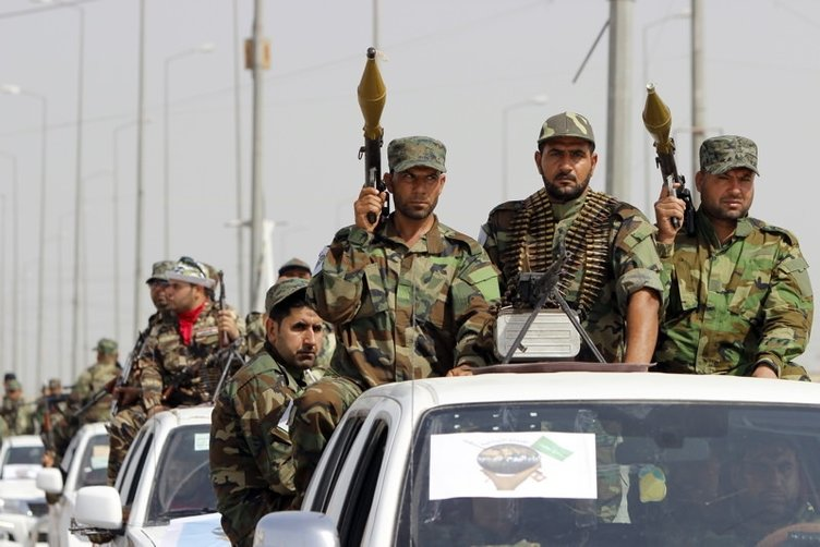 IŞİD'e karşı gövde gösterisi