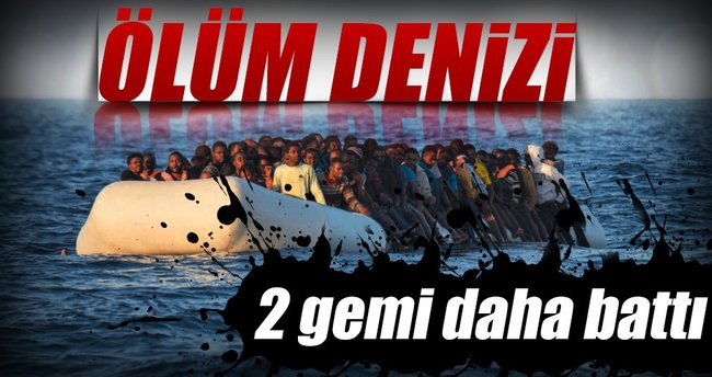 Akdeniz mezarlığına 240 kurban daha