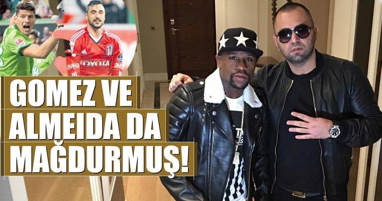 Gomez ve Almeida da mağdurmuş