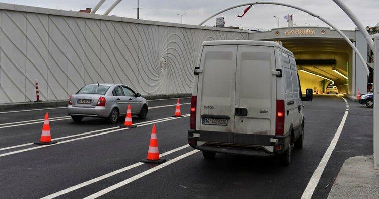 Avrasya Tüneli çift yönlü olarak trafiğe açıldı