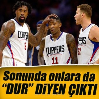 "Grizzlies, Clippers'a ""dur"" dedi"