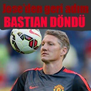 Mourinho'dan Schweinsteiger kararında geri adım