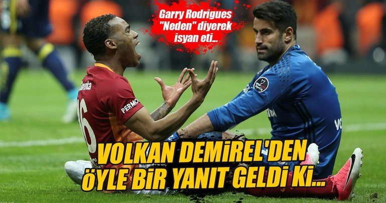 Volkan Demirel'den Garry Rodrigues'e ilginç sözler
