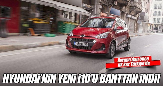 Hyundai yeni i10'u banttan indirdi