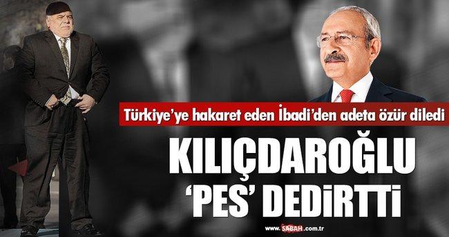 Kılıçdaroğlu neredeyse İbadi'den özür dileyecekti!