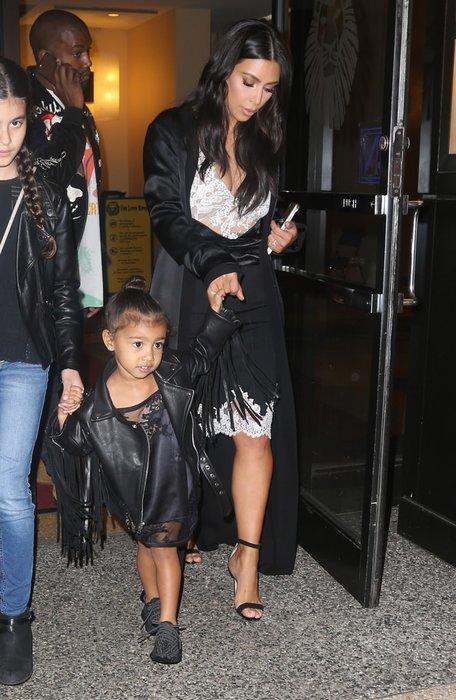 Kim Kardashian'ın aile saadeti