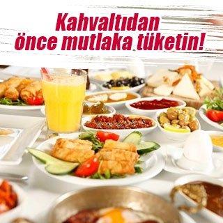 Kahvaltıdan önce mutlaka tüketin!