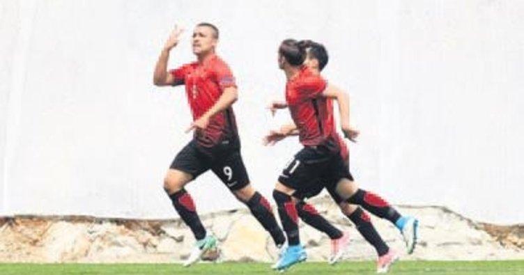 U17 Milli Takımı farklı kazandı: 4-1