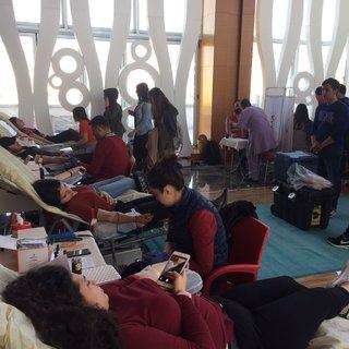Gelişim Üniversitesi'nden Kan Bağışına Destek