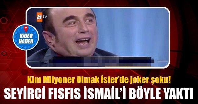FISFIS İSMAİL KİM MİLYONER OLMAK İSTER'E KATILIRSA..