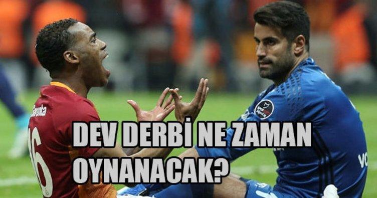 Galatasaray-Fenerbahçe derbisi ne zaman? Derbiler ne zaman oynanacak?