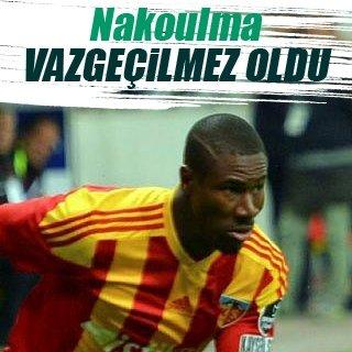 Kayserispor'un vazgeçilmezi Nakoulma