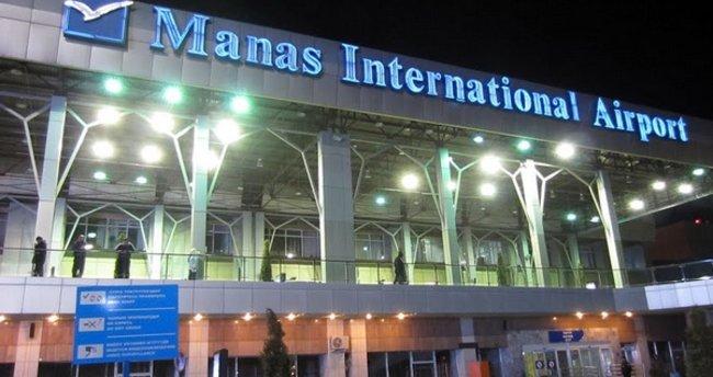 Kırgızistan'da havaalanında bomba paniği