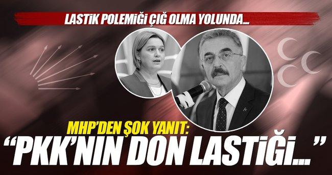 MHP'den CHP'ye cevap: PKK'nın don lastiğisiniz!