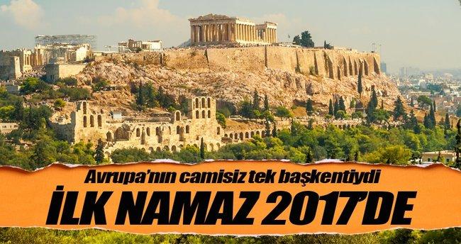 Atina'da ilk namaz 2017'de