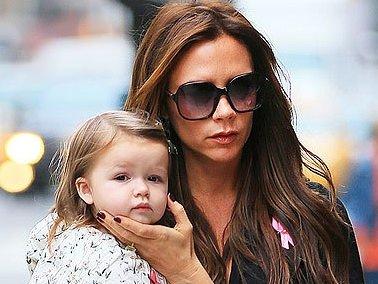 Victoria Beckham'ın moda ikonu kızı
