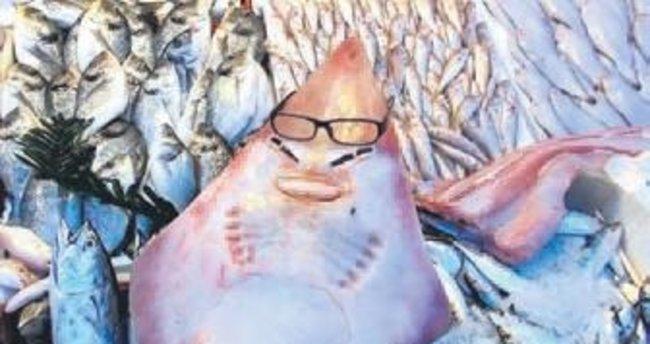 İnsan yüzlü balık ilgi çekiyor