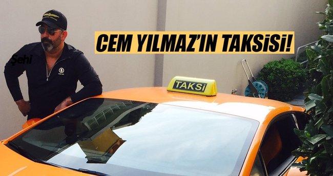 Cem Yılmaz'ın taksisi!