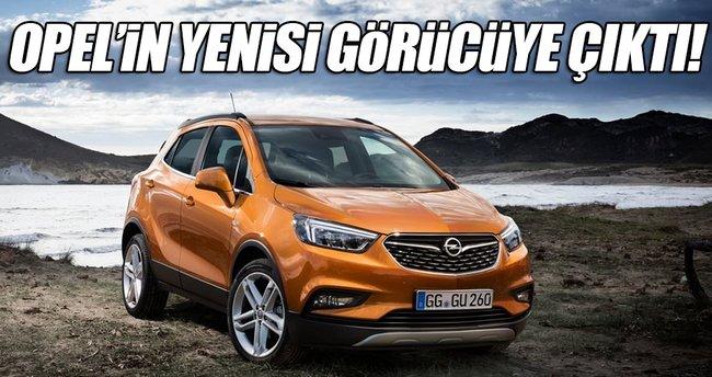 2017 Opel Mokka X Türkiye'de