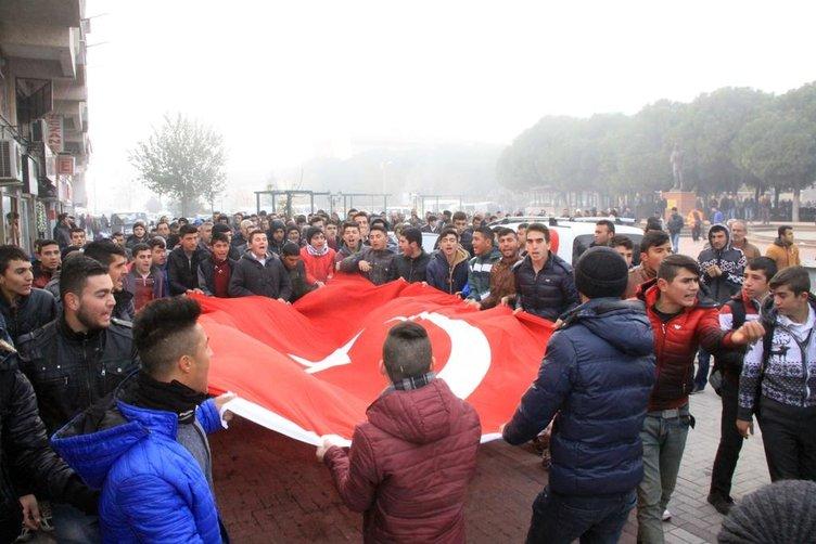 Şehide Cemevi'nde askeri tören