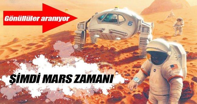 Mars yolcusu kalmasın!