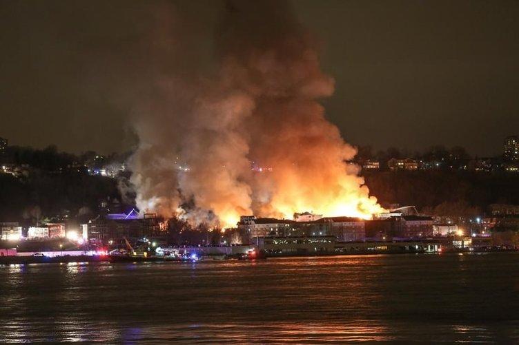 New Jersey'de yangın