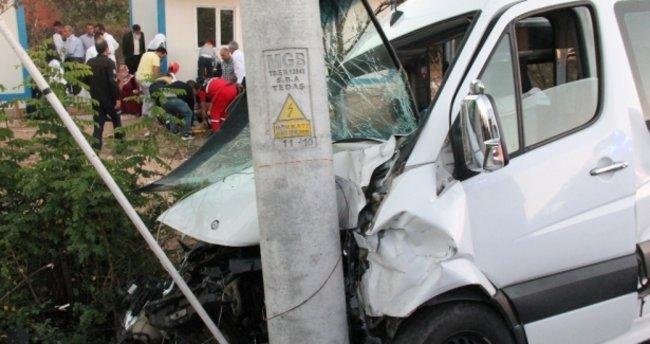 Elazığ- Malatya karayolunda kaza: 15 yaralı