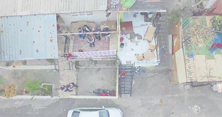 İzmir polisinden 347 adrese baskın