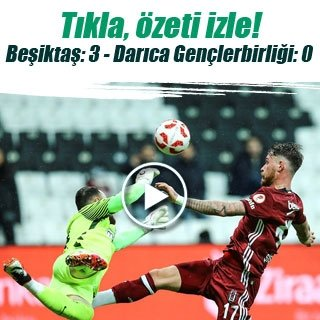 Beşiktaş - Darıca Gençlerbirliği maç sonucu