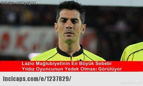 Lazio  Galatasaray maçının capsleri