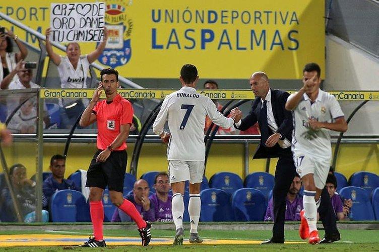 Ronaldo'dan Zidane'a küfür!