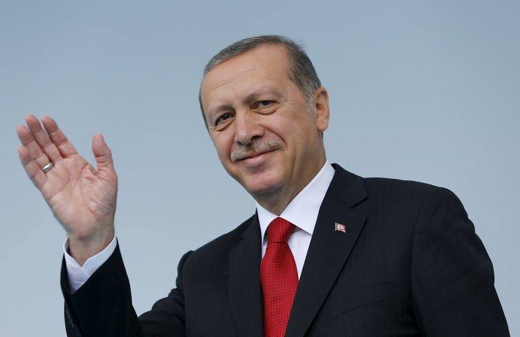 Minik öğrenci Erdoğan'ı güldürdü