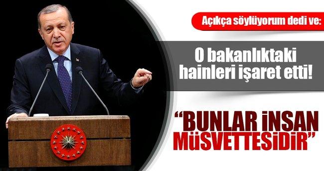 Cumhurbaşkanı Erdoğan: Terör örgütüne militan kazandıran öğretmenler var