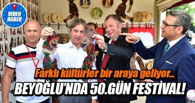 Beyoğlu'nda 50 gün festival