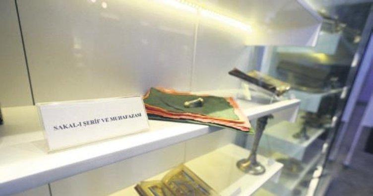 Sakal-ı Şerif 4. kez Etnografya Müzesi'nde