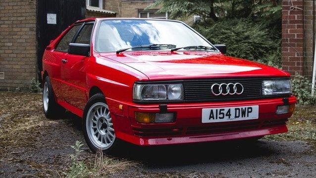 Şampiyon pilotun Audi Quattro'su satışta