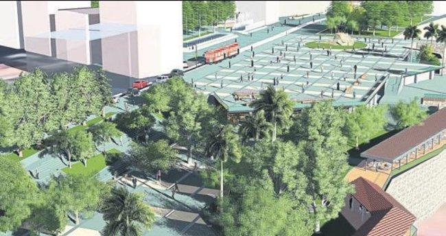 Cumhuriyet Meydanı yenileniyor