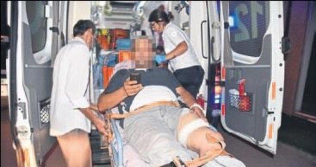 Park kavgasında iki kişi yaralandı