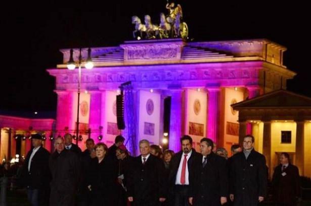Berlin'de hoşgörü ve din özgürlüğü gösterisi