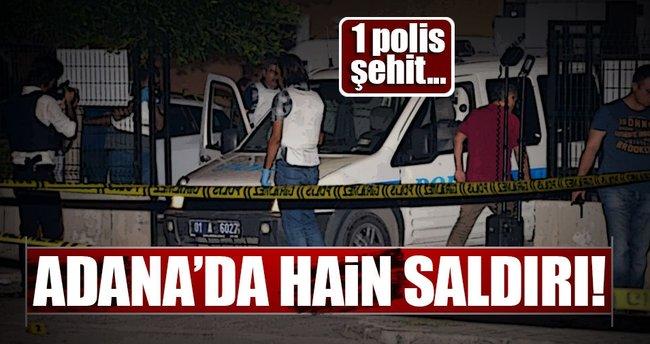 Adana'da hain saldırı