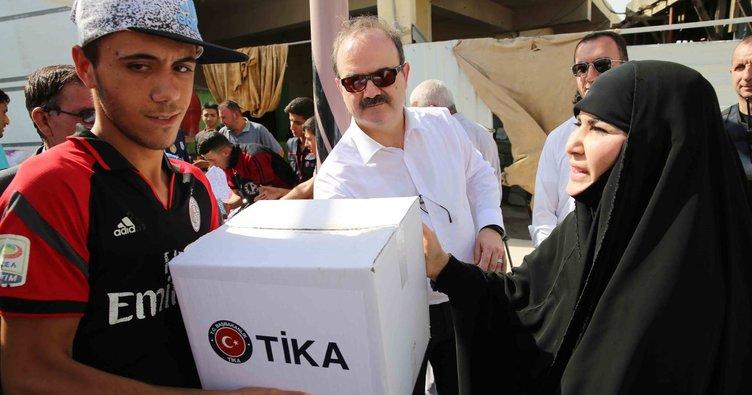 TİKA'dan Musul ve Telaferli Türkmenlere Gıda Yardımı!
