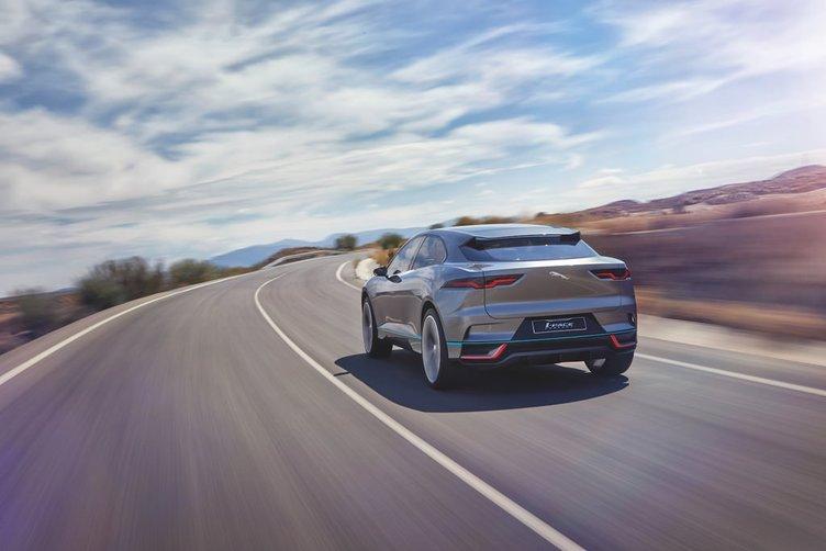 İşte Jaguar'ın yeni elektrikli konsepti